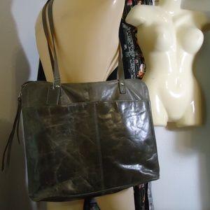 Glazed Leather Latico 11x15 Big Book Travel Bag